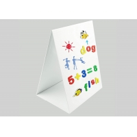 Buy cheap Custom Tabletop Magnetic Whiteboard Foldable Magnetic Easel 17 x 13 from wholesalers