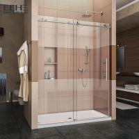 Buy cheap Sliding All Tempered Glass Shower Enclosure With Stainless Steel Handle from wholesalers