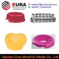 Buy cheap EURA Pet Feeder Injection Mould / Plastic Dog / Cat Feeder Bowl Injection Mold supplier from wholesalers
