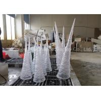 Buy cheap Artificial Icicle transparent decoration Large size resin icicle from wholesalers