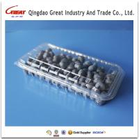 Buy cheap Disposable Plastic Fruit Container Clamshell Packaging from wholesalers