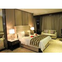 Buy cheap Antique Business Type Hotel Bedroom Furniture Covered With Glossy Lacquer Finish from wholesalers