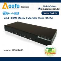 Buy cheap Matrix 4 in 4 out HDMI 1080P Switch Extender over IP with RS232 and IR from wholesalers