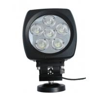 Buy cheap 60W high power Led vehicle work light with Flood /Spot beam 6 inch for Off road vehicle product