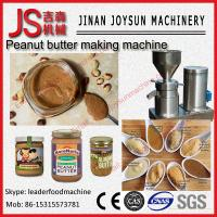 Buy cheap Stainless Steel Colloid Mill / Peanut Butter Machine 3 - 50 kg / h Capacity from wholesalers