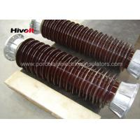 Buy cheap Brown Color Station Post Insulators For 110kV Substations Metric Pitch from wholesalers