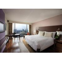 Buy cheap Commercial Hotel Bedroom Furniture Sets Matt / High Gloss Painting from wholesalers