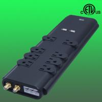 Buy cheap 3000Joules home office surge protector /suppressor, phone fax coaxial protected from wholesalers