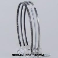 Buy cheap Chrome Nissan 6 Cylingder Piston Ring Set Gapless , Truck Engine Parts from wholesalers