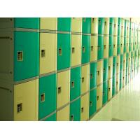 Buy cheap Ventilation Plastic Gym Lockers Four Tier Anti UV Aging Waterproof Storage Locker from wholesalers