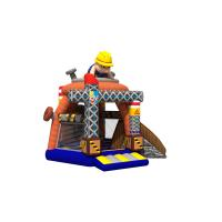 Buy cheap Lovely Inflatable Construction Site Combo Bouncy Castle With Digital Printing from wholesalers