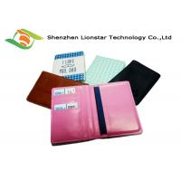 Buy cheap Handmade Leather Craft Gifts , PU Leather Passport Holder Travel Wallet from wholesalers