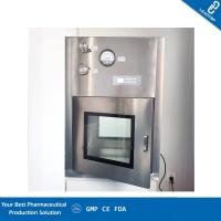 Buy cheap Double Layer Shell Static Pass Box UV Light With Electronic Interlock from wholesalers