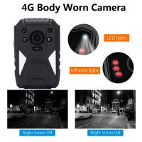 Buy cheap Full HD 1440P 3G 4G Security Guard Wireless WIFI Police Video Body Worn Camera product