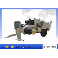 ISO Cable Tensioner Overhead Line Stringing Equipment 630 MM Bullwheel Bottom