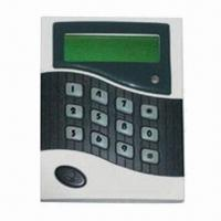 Buy cheap Access Control Keypad/Time Attendance, 16 Alarm Clock Time Can Be Set from wholesalers