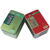 Buy cheap Tinplate Painting Tin Tea Canisters ,Tea Tin Container,Tea Packaging Box from wholesalers
