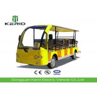 Buy cheap 72V Dc Motor Electric Sightseeing Car Tourist Bus With 14 Seats For Campus / Community product