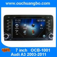 Buy cheap OuchuangboGPS Navigaiton DVD Radio Stere for Audi A3 2003-2011 iPod USB SD AUX India map from wholesalers