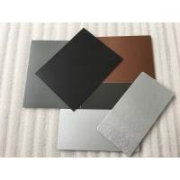 Buy cheap 3 Coats PVDF Aluminum Composite Panel Boards High Intensity For Interior Wall from wholesalers