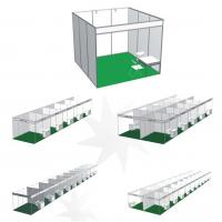 Buy cheap XINMIAOSYSTEM 3X3 Shell Scheme Stand Manufactory In China,Standard Exhibit Booth from wholesalers
