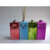 Buy cheap Red / Blue / Green Beautiful Handmade Reed Diffuser Set For Home Decorative from wholesalers