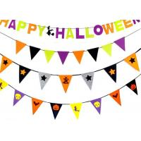 Buy cheap Halloween Flags Felt Fabric Crafts Create Halloween Atmosphere For Home from wholesalers