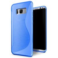 Buy cheap S - Line Opaque Rubber Soft TPU Matte Custom Cell Phone Covers For Samsung S8 from wholesalers