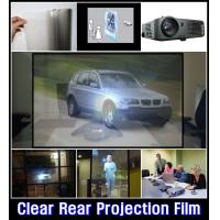 Buy cheap Transparent projection film Holographic Projection System for Window Shop Display from wholesalers