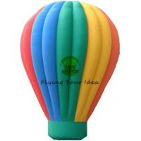 Buy cheap Customized Color Inflatable Advertising Balloon With Air Balloon Shape For Trade Fair from wholesalers