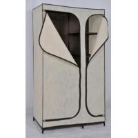 Buy cheap Bedroom Fabric Clothes Wardrobe Closet with PEVA, 165 * 50 * 100 GD-2111 from wholesalers