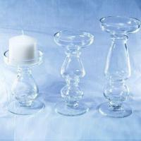 Buy cheap Glass Candle Holders, Measuring 10.5 x 15.5cm from wholesalers