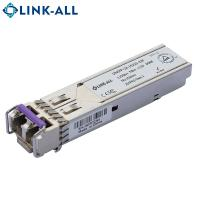 Buy cheap 1.25G 1550nm SFP Module single mode fiber optical SFP Transceiver Modules, 80km product