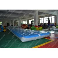 Buy cheap Portable Durable Inflatable Air Track , advertising tumbling track trampoline from wholesalers