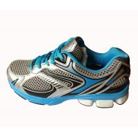 Buy cheap Mens running shoes grey/blue color,comfortable wearing with cushion MD sole from wholesalers