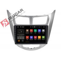 Buy cheap USB DVR Video Input Android Auto Car Stereo For Hyunida Verna / Solaris / Accent 2011 from wholesalers