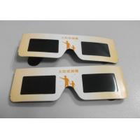 Buy cheap Eco-friendly solar eclipse eyewear glasses for watching eclipse from wholesalers