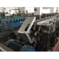 Buy cheap Galvanized Steel Curtain Fire Damper Frame Flange Roll Forming Machine Production Line Speed 6-10m/min from wholesalers