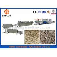 Buy cheap 304 Stainless Steel Artificial Rice Production Line , Artificial Rice Machine from wholesalers