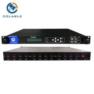 China 24 Channels MPEG-4 AVC/H.264 Encoder HDMI IPTV Streaming Encoder COL5011F on sale