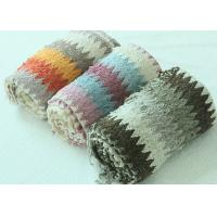 Buy cheap Eco Friendly Colourful Knitted Blankets , Patchwork Knitted Blanket For Babies  from wholesalers