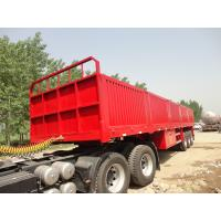 Buy cheap brand new china  lowbed Semi-trailer with 4-axles excavator trailer. excavator trailer from wholesalers