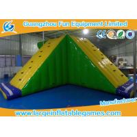 Buy cheap Amusement Floating Inflatable Water Park Game Inflatable Water Slide Equipments from wholesalers