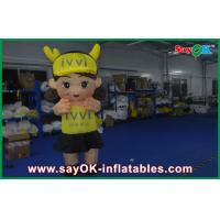 Buy cheap Cute Decoration Inflatable Characters 3m Girl Lively Big Size Oxford Cloth from wholesalers