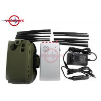 10 Bands Handheld Signal Jammer , Cell Phone Blocking Device With Built In Battery