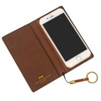 China Nice design slim leather iPhone wallet case with credit card slot on sale