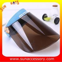 Buy cheap AK16102 PVC sun visor summer hats , promotion hats and cap for sale from wholesalers