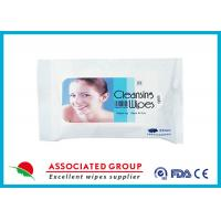 Buy cheap Antibacterial Feminine Wipes Intimate Cleansing Wipes Non Alcoholic from wholesalers