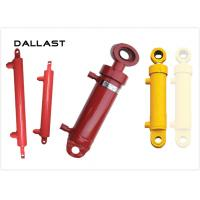 Buy cheap Dual Acting Chrome Hydraulic Cylinders Piston Type for Farm Truck from wholesalers