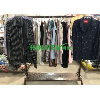 Buy cheap Mixed Color Mens Used Clothing Cotton Material Used Mens Shirts Long Sleeves from wholesalers